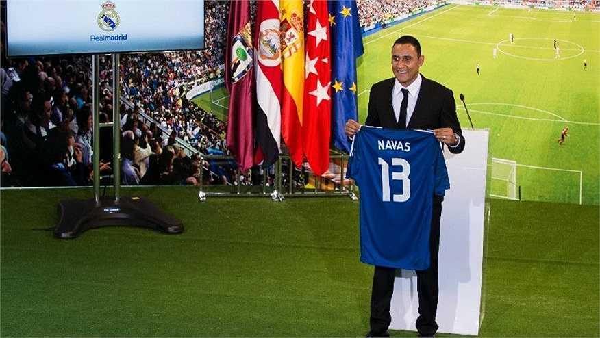 Chứng kiến màn trình diễn tuyệt vời của Keylor Navas tại World Cup 2014, Real Madrid đã ngay lập tức trả cho Levante 10 triệu Euro để giải phóng hợp đồng cho thủ thành người Costa Rica