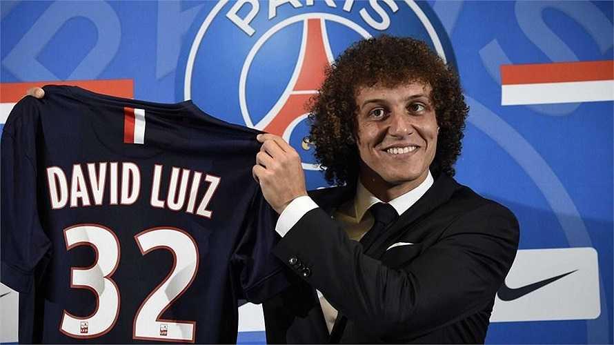 PSG đã khiến cả Châu Âu phải ngỡ ngàng khi bỏ ra tới 50 triệu bảng để mang về trung vệ David Luiz của Chelsea