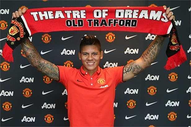 Marcos Rojo (Từ Sporting Lisbon sang Man Utd, 16 triệu bảng)