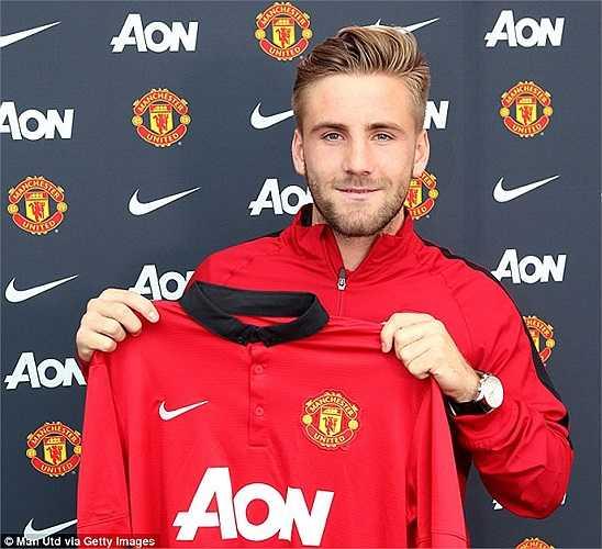Gia nhập Man Utd từ Southampton với giá 30 triệu bảng, Luke Shaw trở thành ngôi sao tuổi teen đắt giá nhất trong lịch sử bóng đá thế giới