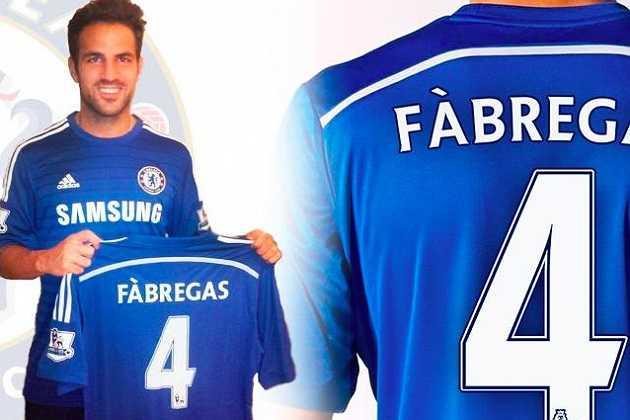Với 32 triệu bảng, Chelsea đã sở hữu một bản hợp đồng chất lượng từ Barcelona, tiền vệ Cesc Fabregas