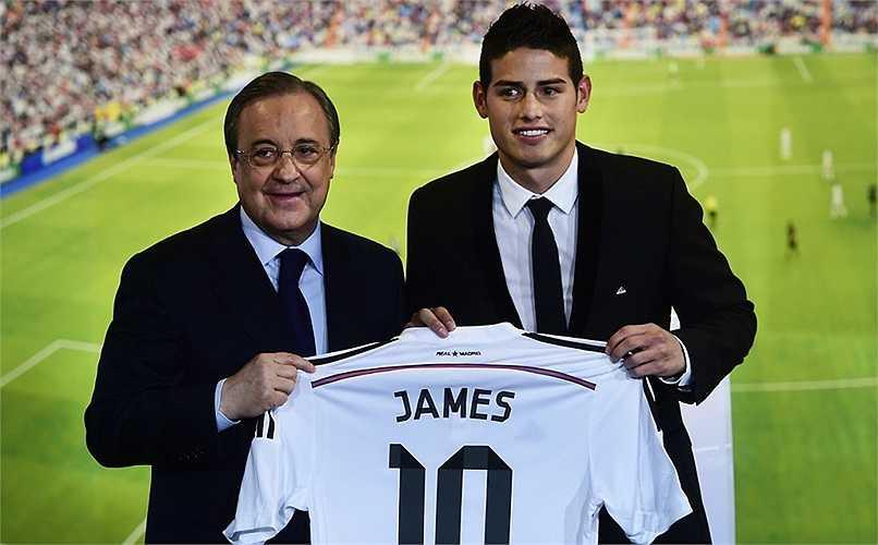 80 triệu Euro là cái giá mà Real đã phải chi ra để sở hữu James Rodriguez