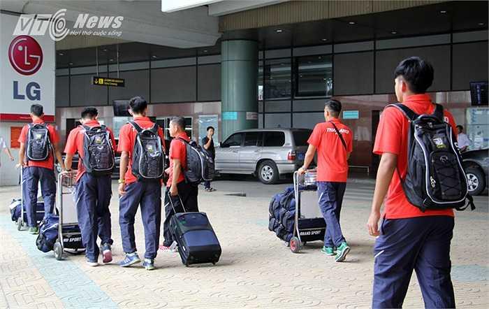 Dù khá mỏi mệt nhưng U19 Thái Lan sẽ bước vào tập luyện ngay chiều nay