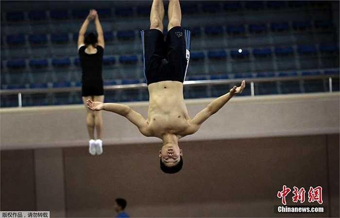 Các vận động viên này là những vận động viên xuất sắc nhất được chọn tham dự Đại hội Thể thao Châu Á thứ 17 ở Incheon