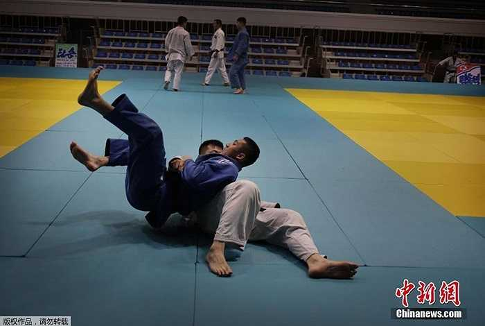 Các vận động viên tích cực tập luyện trước thềm Đại hội Thể thao Châu Á