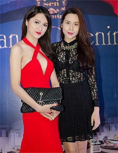 Những lần đọ sắc không hề kém cạnh của Hương Giang với nữ ca sĩ Lưu Hương Giang và Angela Phương Trinh.