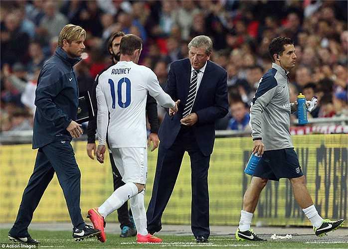 Roy Hodgson có lẽ có nhiều điều để nói với cậu học trò