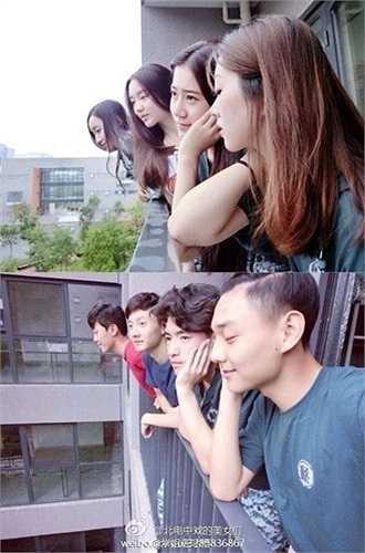 Những hình ảnh gây chú ý của dàn tân sinh viên đại học Bắc Kinh, Trung Quốc.