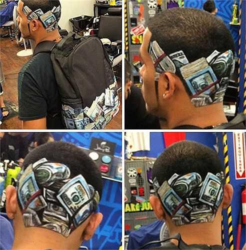 Chỉ với những dụng cụ tạo mẫu tóc đơn thuần, Roberto đã tạo ra những điều tưởng chửng như không thể.