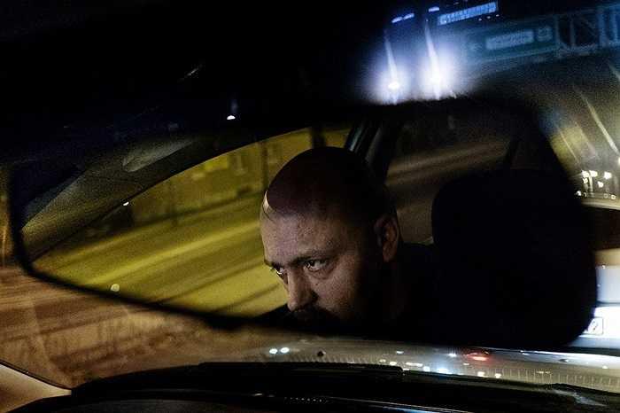 Một tài xế theo chủ nghĩa cực hữu ở Budapest, Hungary