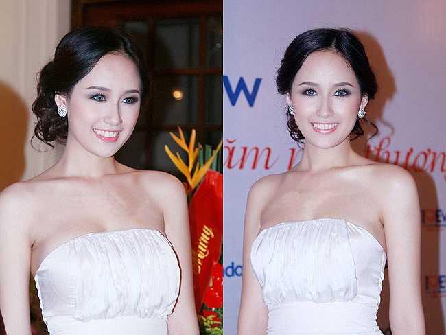 Mai Phương Thúy cũng là người đẹp sở hữu trình độ học vấn đáng nể trong showbiz.