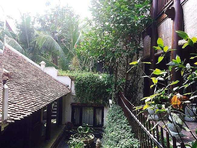 Ngắm ngôi nhà vườn thanh bình và yên tĩnh của Hồng Nhung.