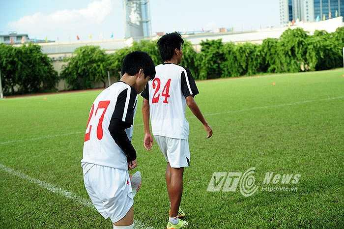 Các tuyển thủ U19 khác cũng không phải ngoại lệ