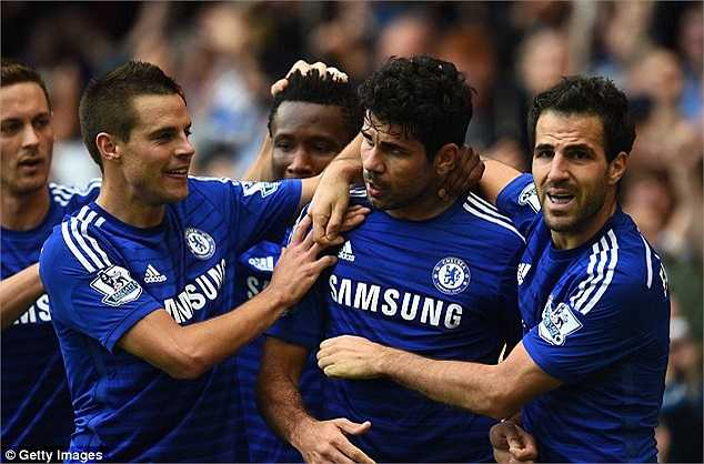 Anh hòa nhập nhanh chóng với đồng đội mới, tạo nên sự gắn kết tuyệt vời cùng Diego Costa