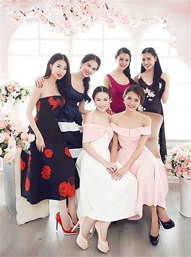 Bộ ảnh do stylist Đỗ Long, chuyên gia trang điểm Phan Dũng, Hưng Đặng và tạo mẫu tóc Miseo hỗ trợ thực hiện.