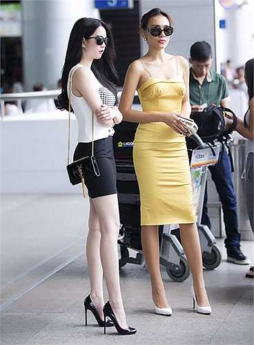 Thời trang thường ngày của Ngọc Trinh cũng vô cùng cuốn hút.