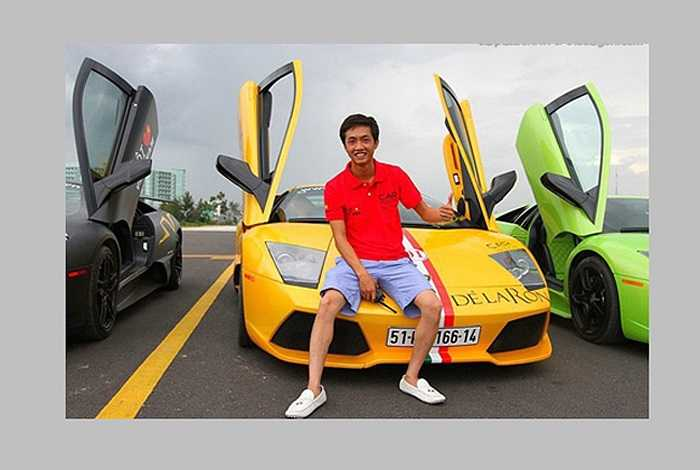 Chiếc Lamborghini Aventador này của doanh nhân Nguyễn Quốc Cường có giá hơn 25 tỷ