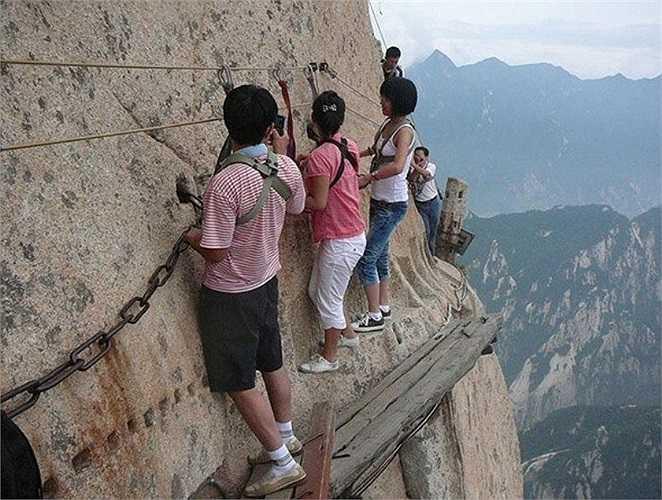 Lại thêm một thử thách khác cho những người không sợ độ cao.