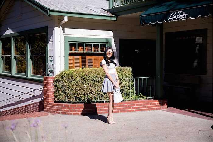 Hiện cô vẫn đang là sinh viên của trường Đại học San Francisco.