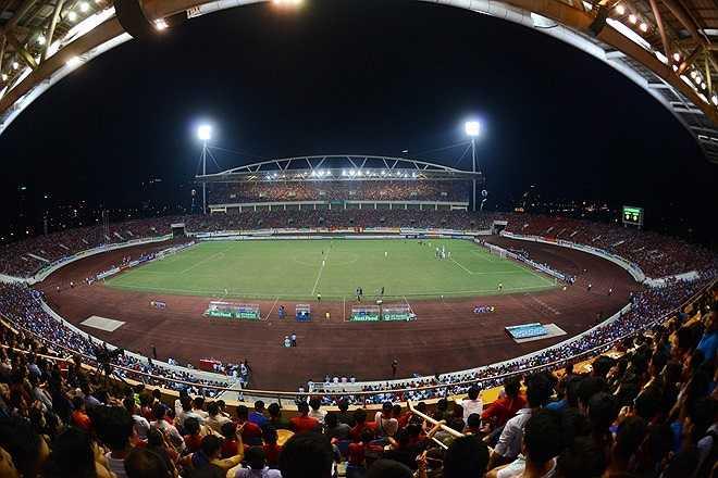 Sân vận động chính thức hoạt động ngày 2/9/2003 với trận đấu đầu tiên giữa đội U23 Việt Nam và câu lạc bộ Thân Hoa Thượng Hải (Trung Quốc). Nơi đây từng tổ chức Đại hội Thể thao Đông Nam Á - SEA Games 22 năm 2003 và nhiều sự kiện thể thao, văn hóa lớn của đất nước.