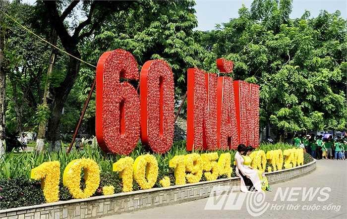 Hà Nội khoác lên mình chiếc áo mới dịp 60 năm Giải phóng thủ đô.