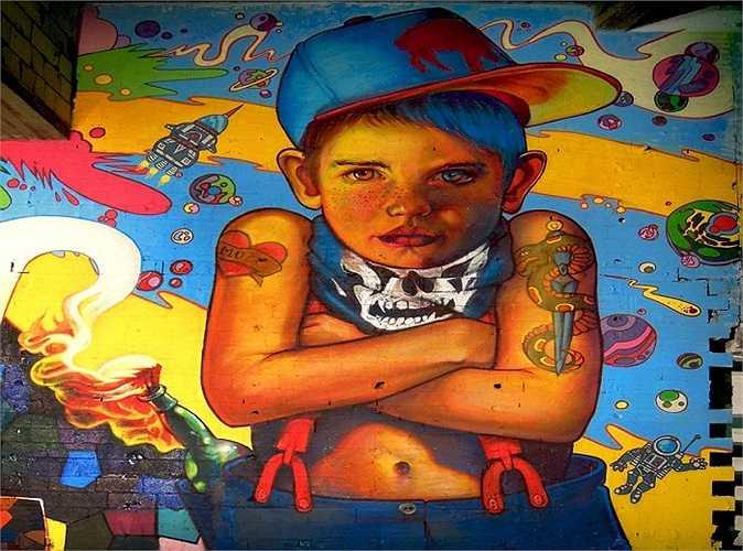 Tài năng xinh đẹp, Natalia nhanh chóng được biết đến, đặc biệt là các bạn trẻ đam mê nghệ thuật đường phố