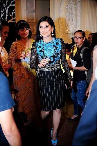 Từng là diễn viên nổi tiếng một thời nhưng Thủy Tiên lại tạm ngừng đóng phim để chuyên sâu vào kinh doanh. Hiện mẹ chồng của ngọc nữ Tăng Thanh Hà là một doanh nhân nổi tiếng, thành đạt.