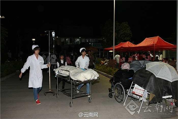 Trận động đất ở tỉnh Vân Nam, Trung Quốc tối qua làm 1 người chết, 324 người bị thương