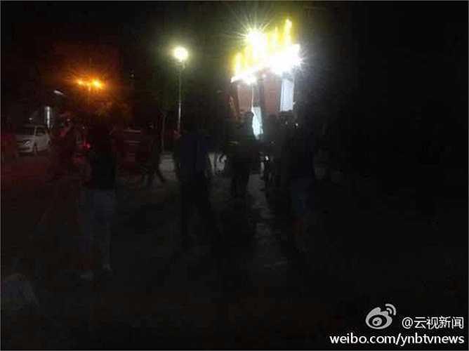 Trận động đất xảy ra ở thành phố Phổ Nhĩ, huyện Cảnh Cốc, tỉnh Vân Nam thuộc tây nam Trung Quốc lúc 21h49 phút giờ địa phương (20h49 phút giờ Hà Nội)