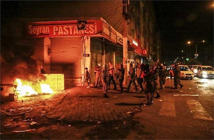 Đối tượng tham gia các cuộc biểu tình chủ yếu là các thanh niên người Kurd, Thổ Nhĩ Kỳ