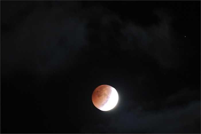 'Trăng máu' trên bầu trời Pennsylvania, Mỹ