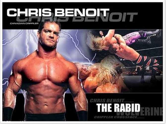 Christopher Michael Benoit, một đô vật chuyên nghiệp người Canada (vô địch thế giới hai lần) đã giết cả gia đình mình do không kiểm soát được bản thân khi lạm dụng steroid.