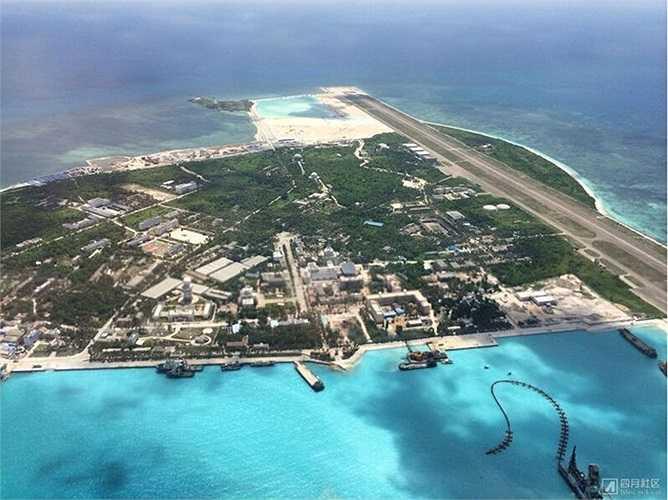 Tờ Hoàn Cầu thời báo nói Trung Quốc đã xây xong đường băng trái phép trên đảo Phú Lâm thuộc quần Hoàng Sa của Việt Nam