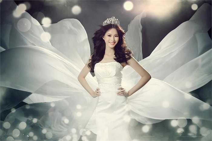 Hoa hậu Thu Thảo từng học khoa Tài chính Ngân hàng tại Đại học Tây Đô (Cần Thơ)