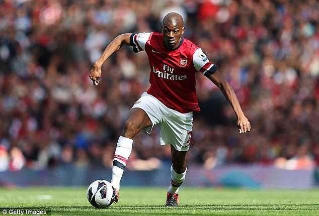 Từng được coi là Patrick Viera mới tại Emirates, song những chấn thương liên miên đã hủy hoại sự nghiệp của Diaby