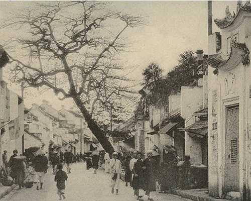 Cửa Bắc thành Hà Nội.