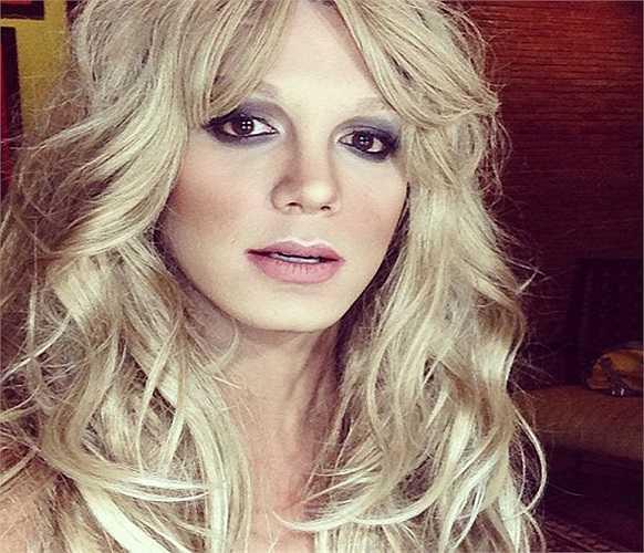 Đây là hình ảnh của nữ ca sĩ Britney Spears