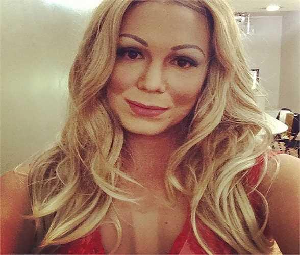 Đây là hình ảnh của nữ ca sĩ  Mariah Carey