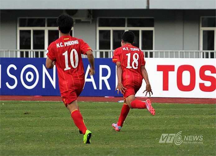 Góp phần vào bàn gỡ hòa của U19 Việt Nam