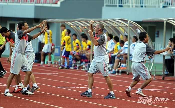 Thực tế, U19 Việt Nam đã chơi tốt hơn so với trận thua U19 Hàn Quốc