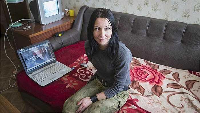 Cuộc sống của một nữ binh sĩ chính phủ Ukraine