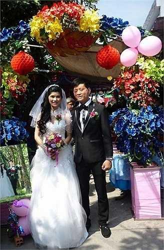 Cặp đôi vợ xinh - chồng xấu: Trần Lâm - Thu Hiền từng gây xôn xao dân mạng.
