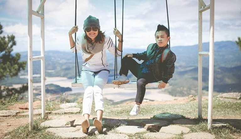 Cặp đôi Trần Xuân Tiến (Kaydy Trâng) và Lê Thanh Thảo là sự chênh lệch về chiều cao khác biệt một trời một vực.