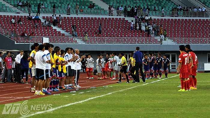 Ban huấn luyện U19 Nhật Bản khen tặng nỗ lực của U19 Việt Nam