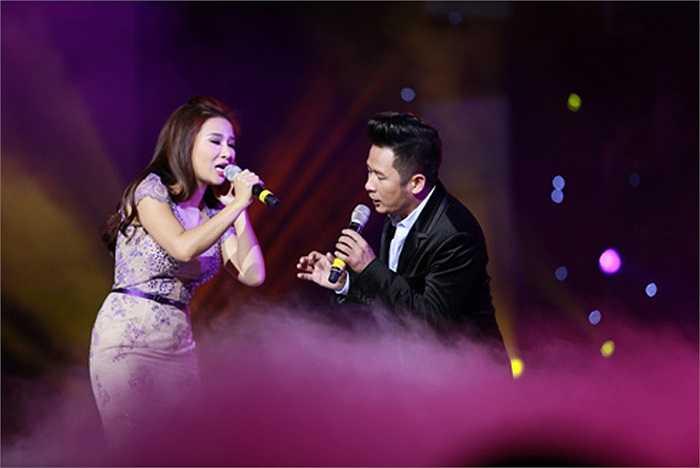 Vừa bình phục sau tai nạn nghiêm trọng, nữ ca sỹ Lam Anh đã gửi tới khán giả Thủ đô bằng bản song ca Nơi tình yêu bắt đầu với Bằng Kiều