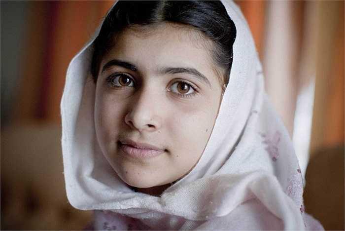 Cận cảnh nhan sắc nữ sinh Yousafzai