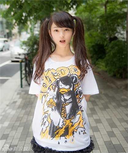 Ở Nhật, kiểu tóc buộc hai bên rất được các nữ sinh ưa chuộng.