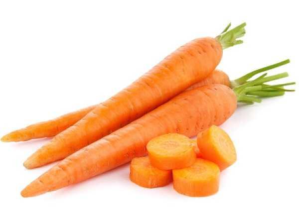 Bạn cũng có thể bổ sung vitamin K cho cơ thể bằng cà rốt.