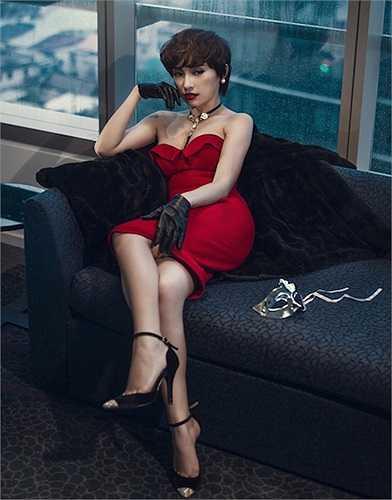 Nữ ca sỹ Tiêu Châu Như Quỳnh cắt tóc tém để hướng tới một hình ảnh năng động, cá tính