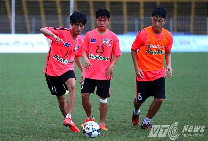 Phan Thanh Hậu (11) vừa được đưa vào top 40 tài năng trẻ của bóng đá thế giới (Ảnh: Quang Minh)